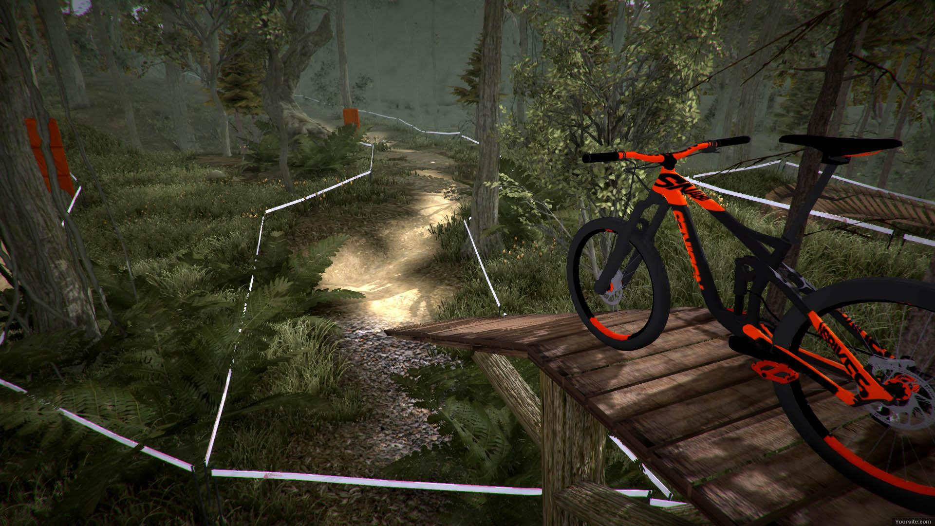 MTB Downhill Simulator (2016) PC - Скриншот 1