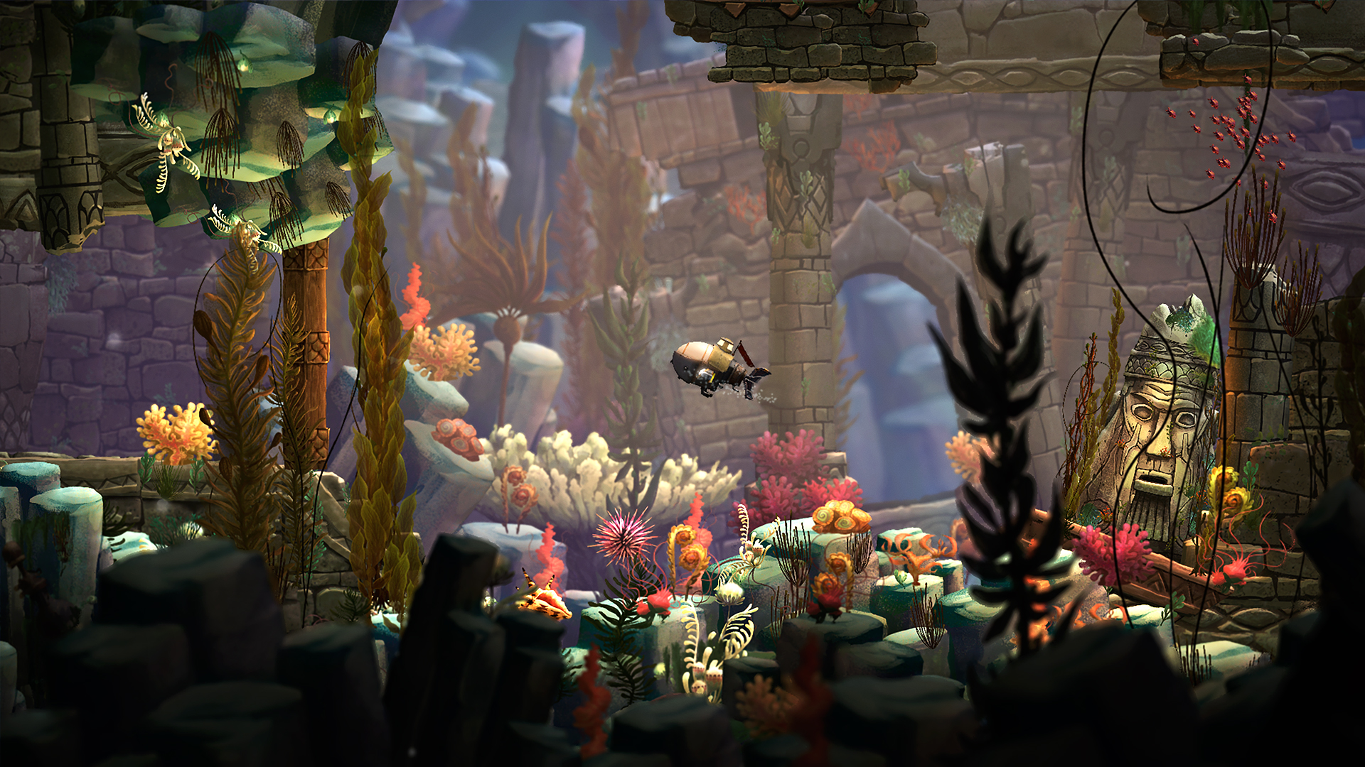 Song of the Deep [Update 3] (2016) PC | Steam-Rip от Let'sРlay - Скриншот 2