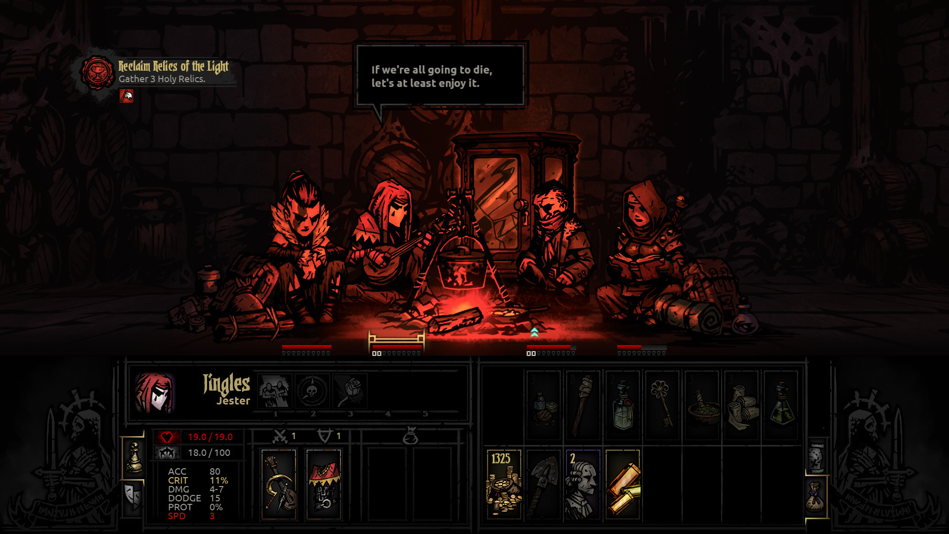 Darkest Dungeon [Build 14620] (2016) PC | RePack by SeregA-Lus - Скриншот 2