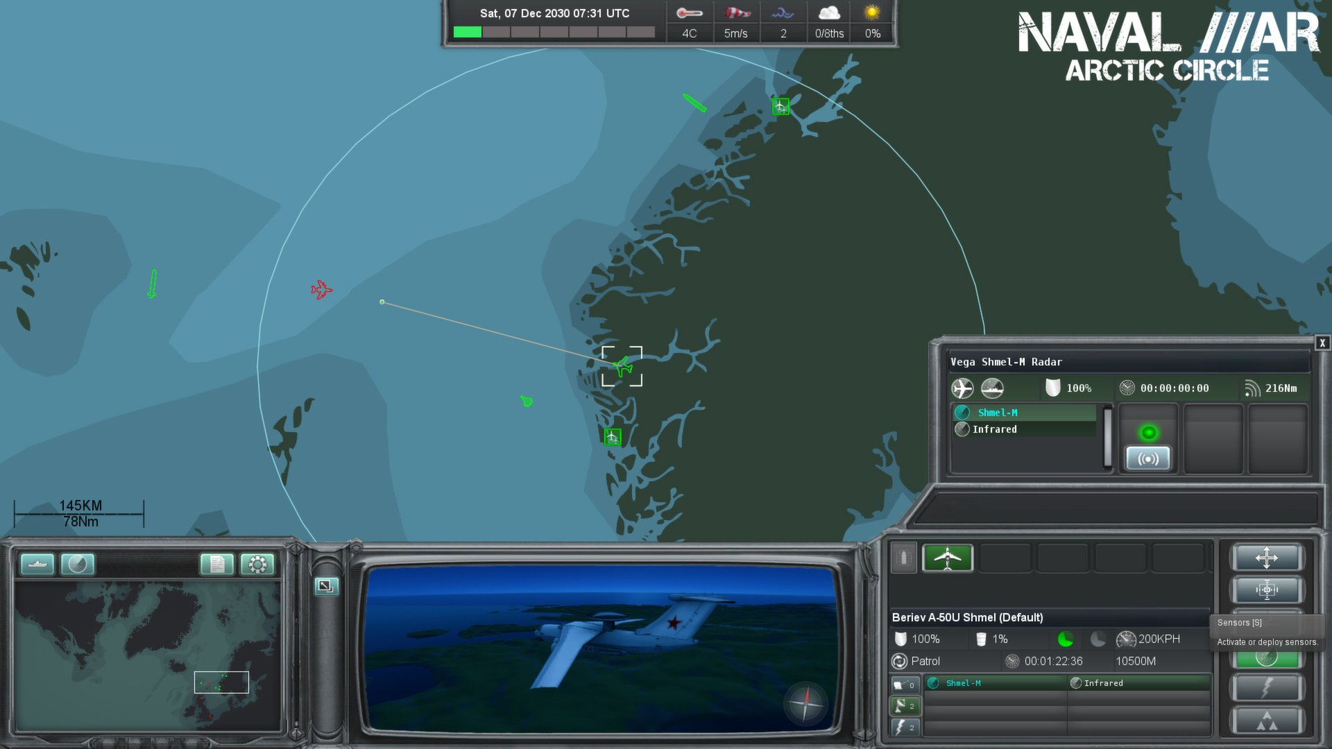Naval War: Arctic Circle [v 1.0.9.4] (2012) PC | Лицензия - Скриншот 2