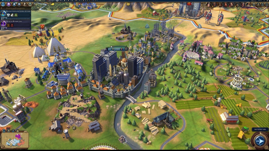 Sid Meier's Civilization VI: Digital Deluxe [v 1.0.0.110 + 4 DLC + OST] (2016) PC | RePack by FitGirl - Скриншот 3