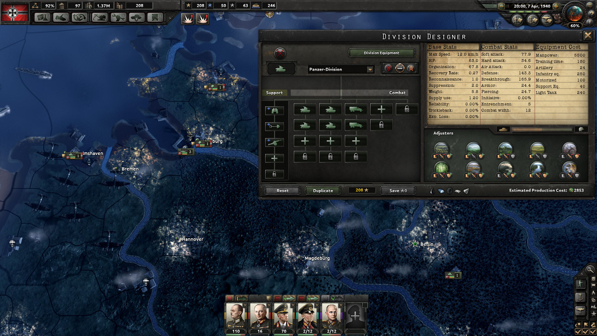 Hearts of Iron IV: Field Marshal Edition [v 1.1.0] (2016) PC | RePack от xatab - Скриншот 2