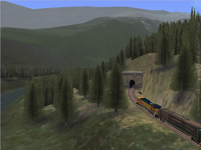 Microsoft Train Simulator - Grand Pack (2001) PC - Скриншот 1