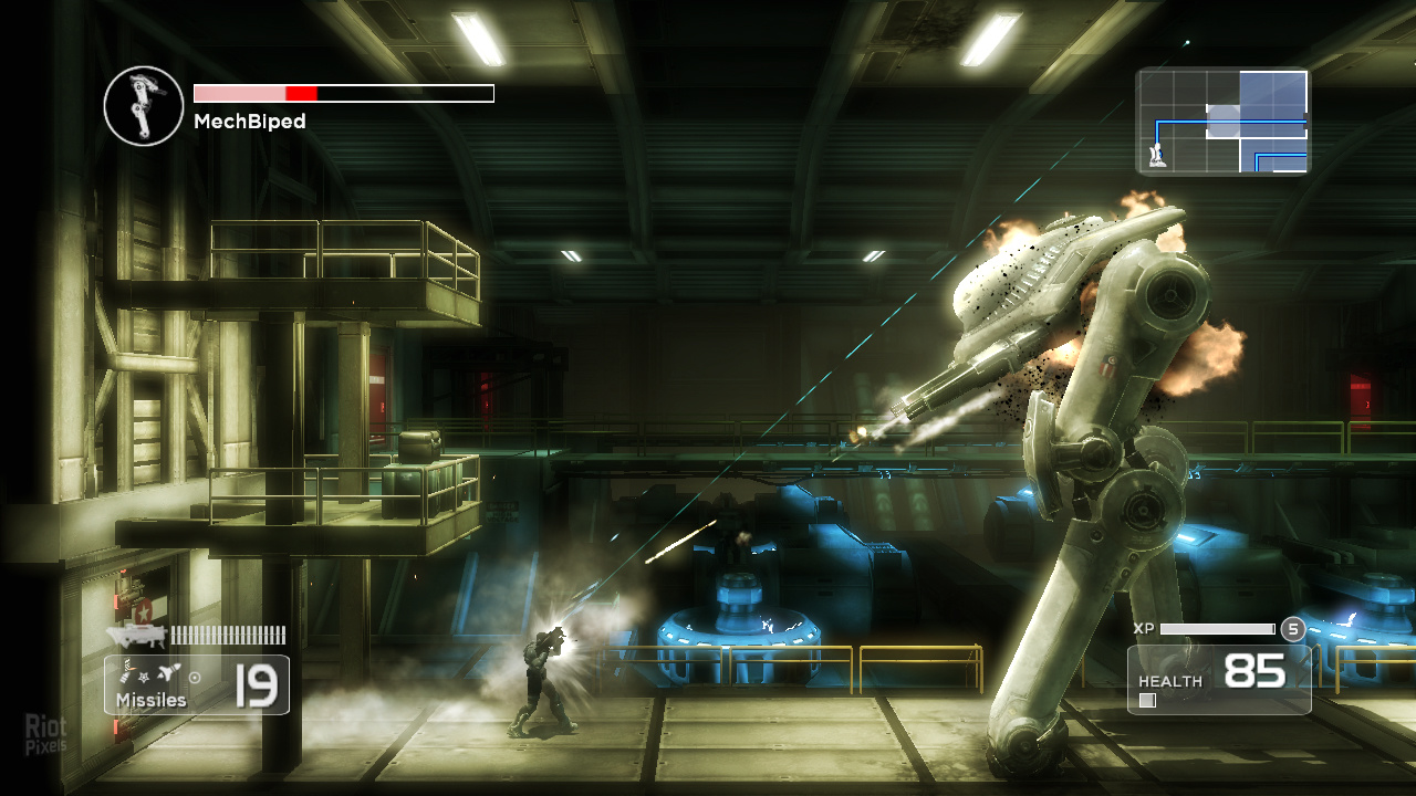 Shadow Complex Remastered (2016) PC - Скриншот 3