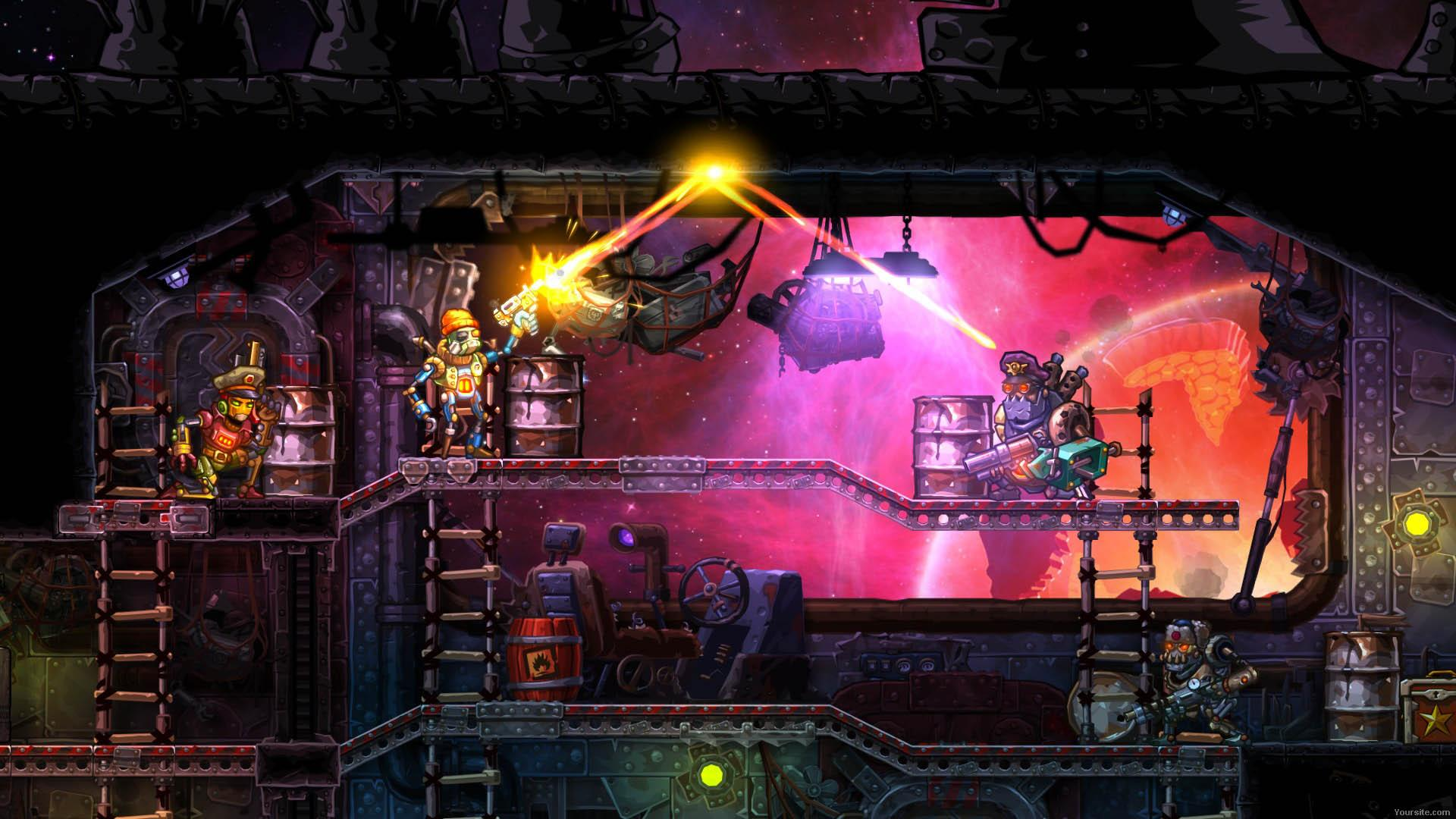 SteamWorld Heist (2016) PC | RePack - Скриншот 2