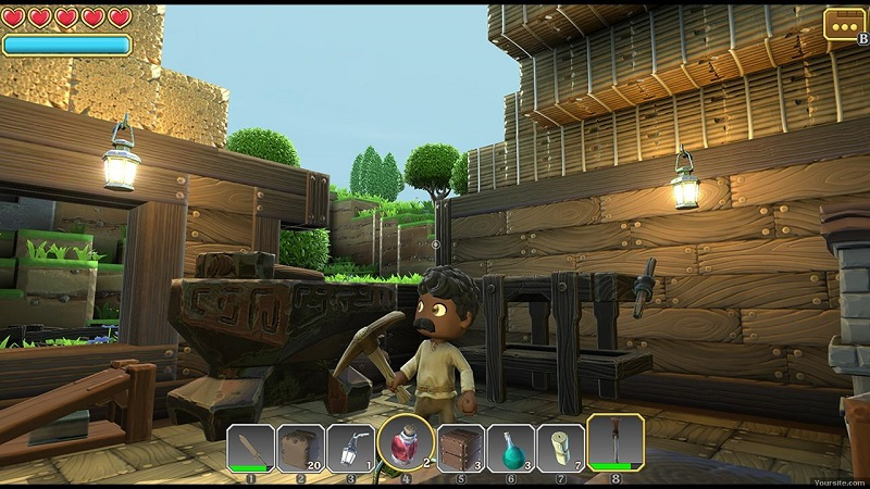 Portal Knights [v.0.5.2] (2016) PC | RePack от GAMER - Скриншот 1