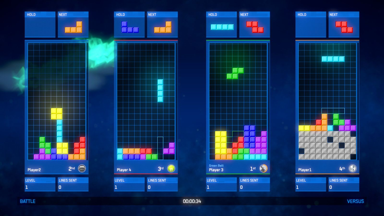 Tetris Ultimate (2015) PC | RePack - Скриншот 1