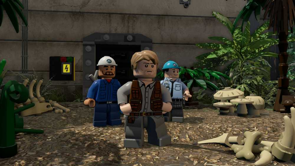 LEGO Jurassic World (2015) PC - Скриншот 3