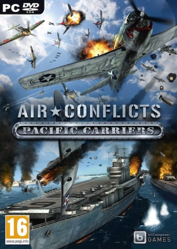 Air Conflicts: Pacific Carriers (2012) PC | RePack от R.G. Catalyst