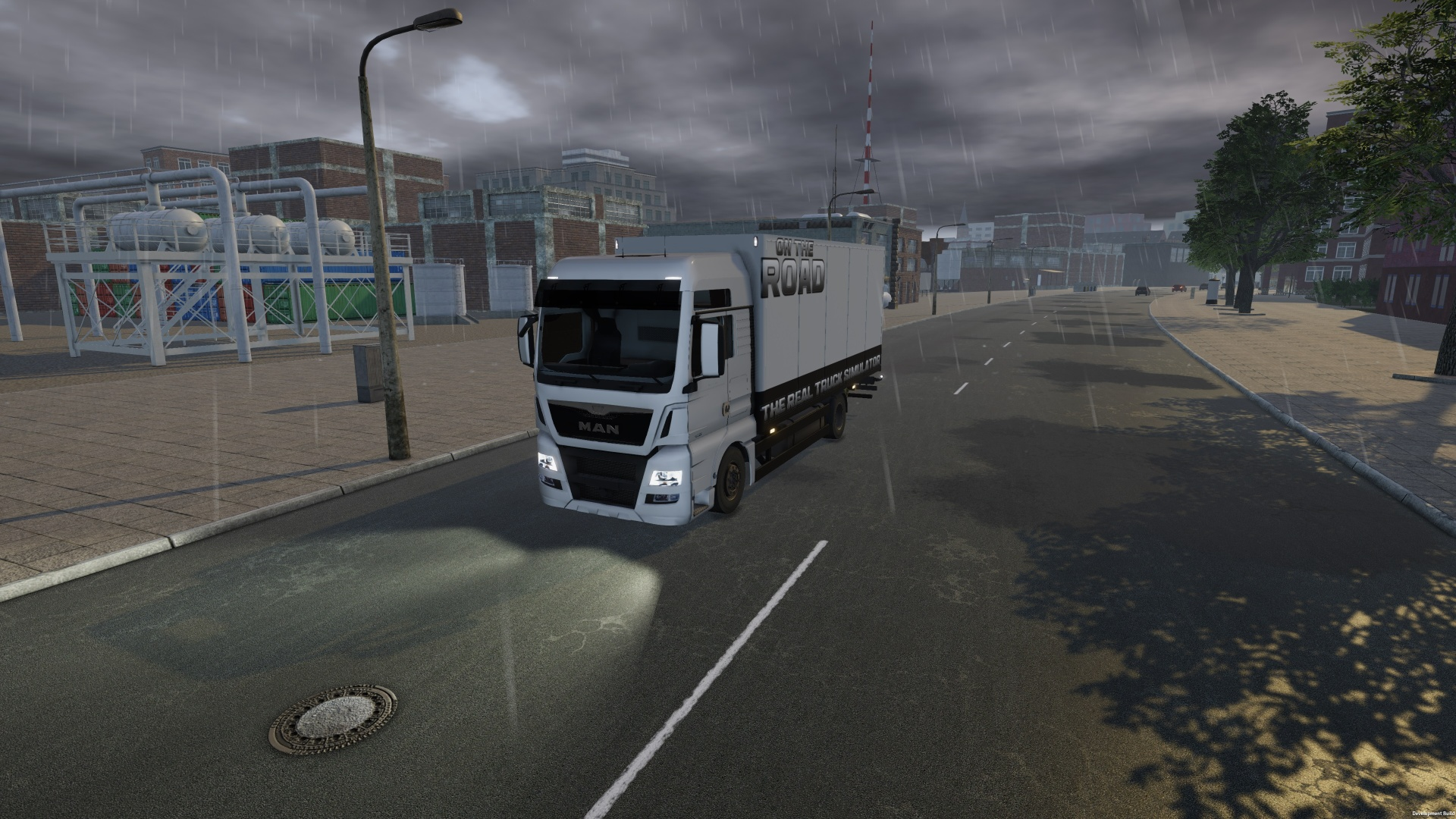 On The Road: Truck Simulation (2017) PC | RePack by Other s - Скриншот 2