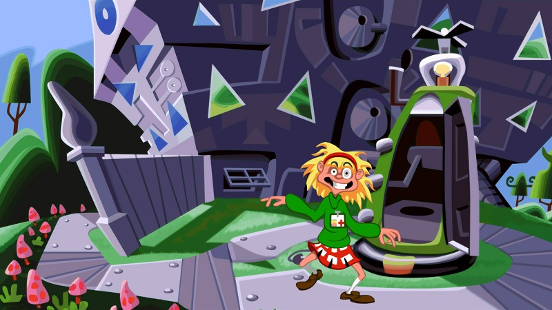 Day of the Tentacle - Remastered (2016) PC | Repack - Скриншот 3