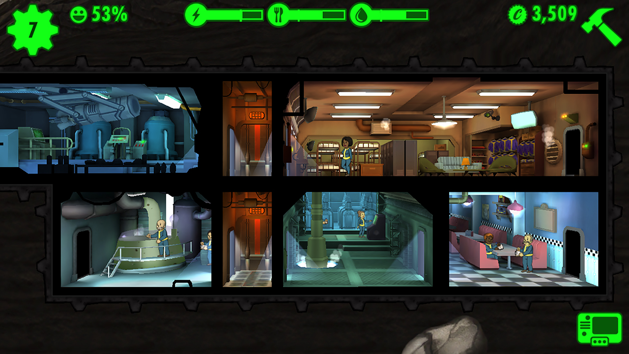 Fallout Shelter (2016) PC | RePack от R.G. Freedom - Скриншот 2