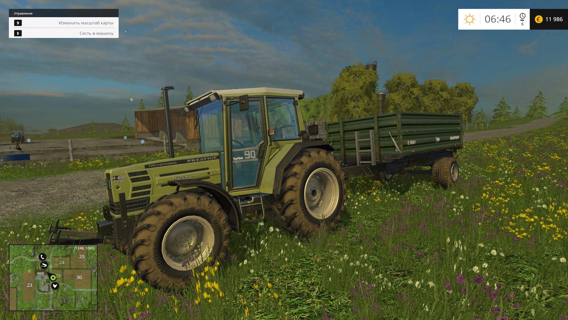 Farming Simulator 15: Gold Edition v 1.4.2 (2014) PC | RePack от xatab - Скриншот 3