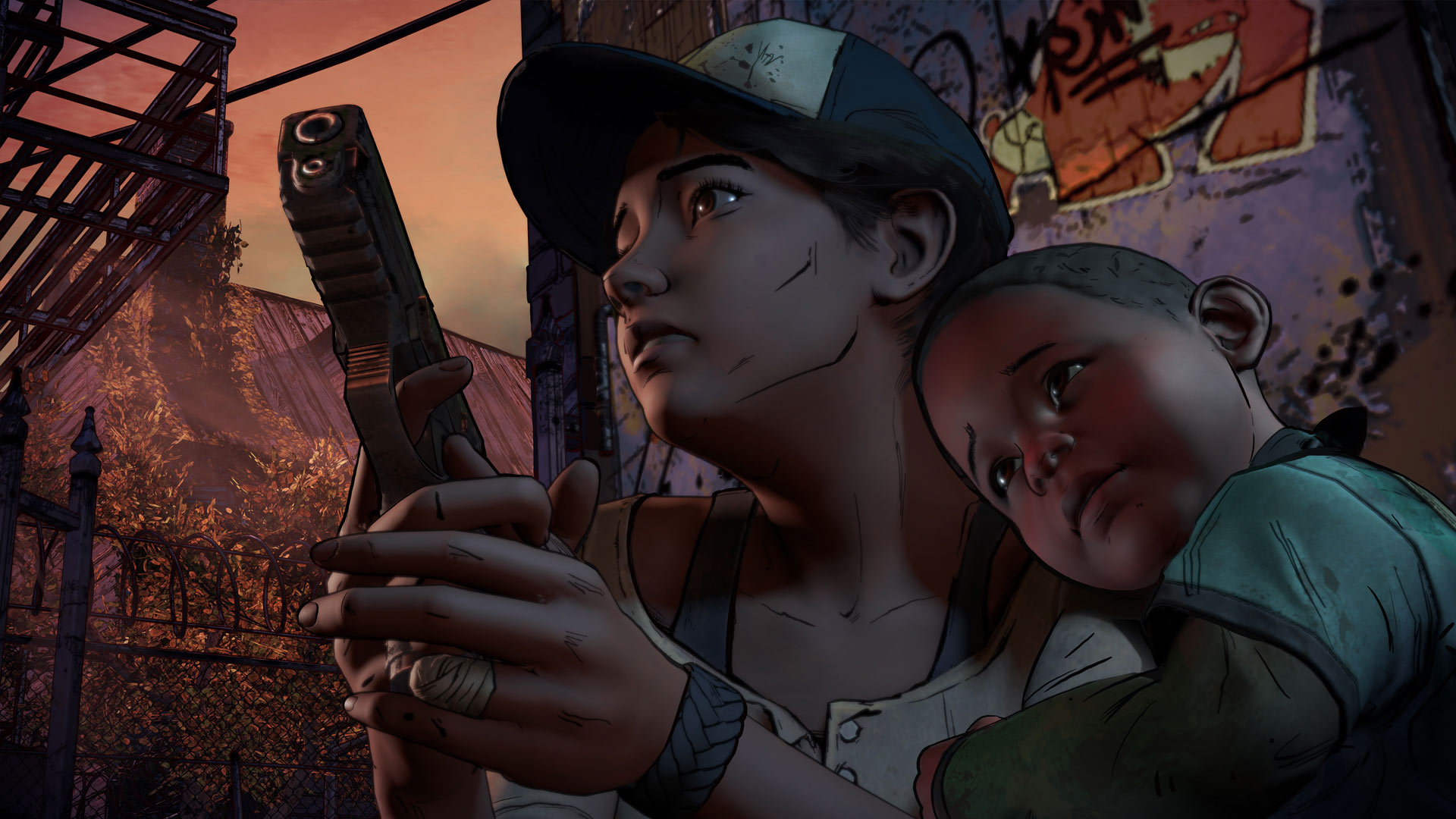 The Walking Dead: A New Frontier - Episode 1-4 (2016) PC | RePack от R.G. Catalyst - Скриншот 3