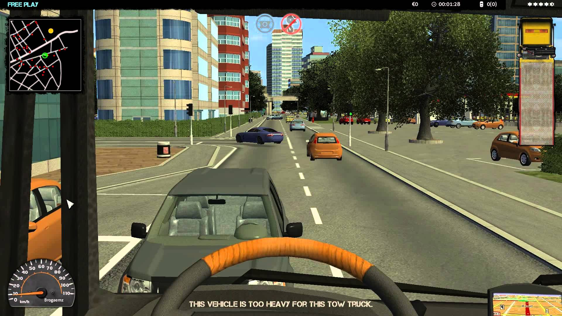 Towtruck Simulator 2015 (United Independent Entertainment GmbH) (ENG|MULTI6) [L] - Скриншот 3
