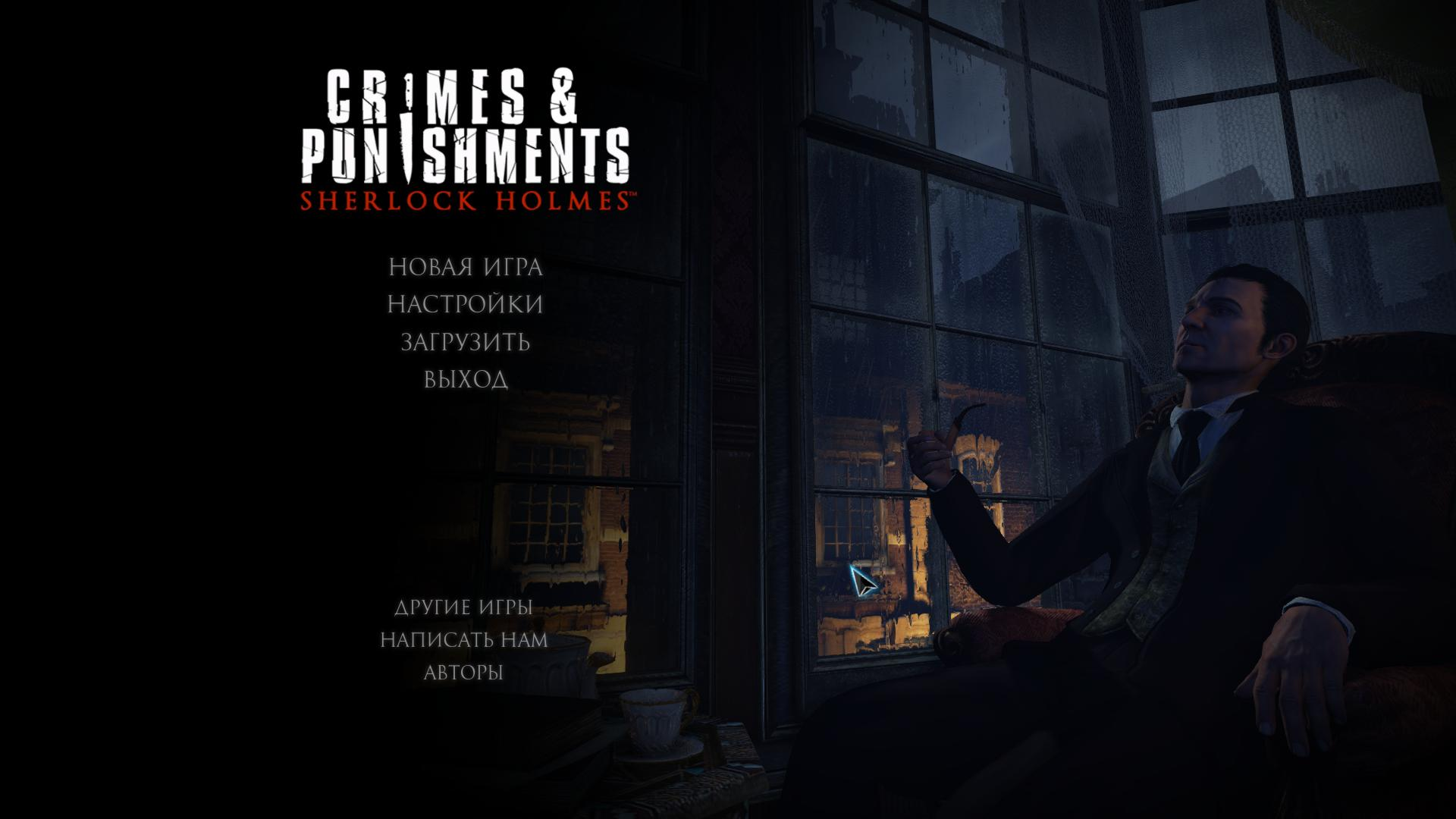 Скриншот Sherlock Holmes Crimes and Punishments (Steam-Rip)