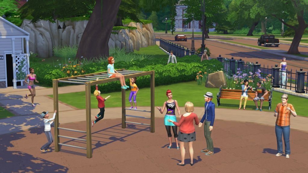 The Sims 4: Deluxe Edition [v 1.7.65.1020] (2014) PC | RePack от R.G. Freedom - Скриншот 1