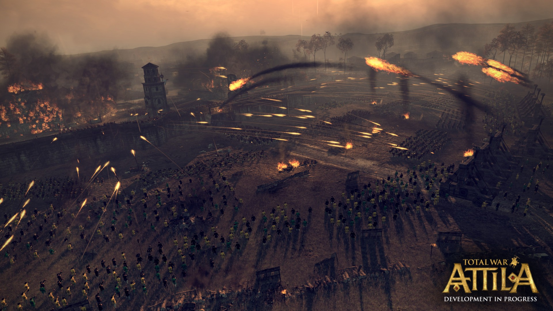 Total War: ATTILA [v 1.6.0 + DLCs] (2015) PC - Скриншот 2