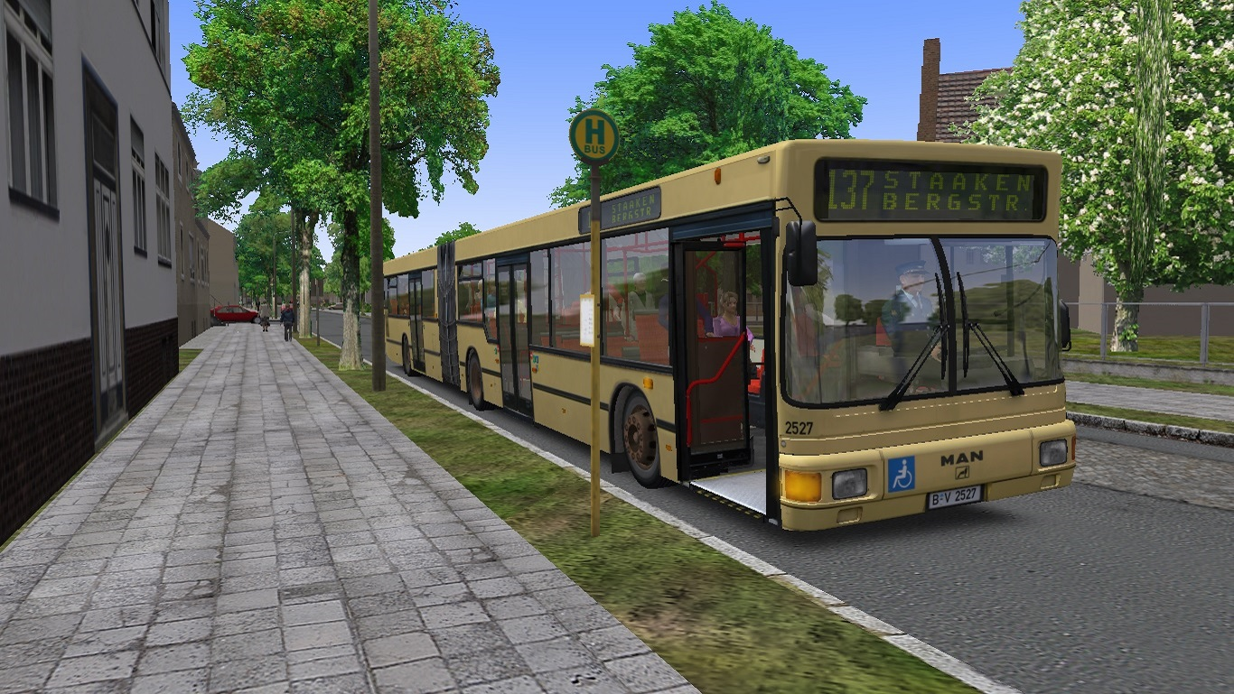Скриншот OMSI - The Bus Simulator 2 (RePack)