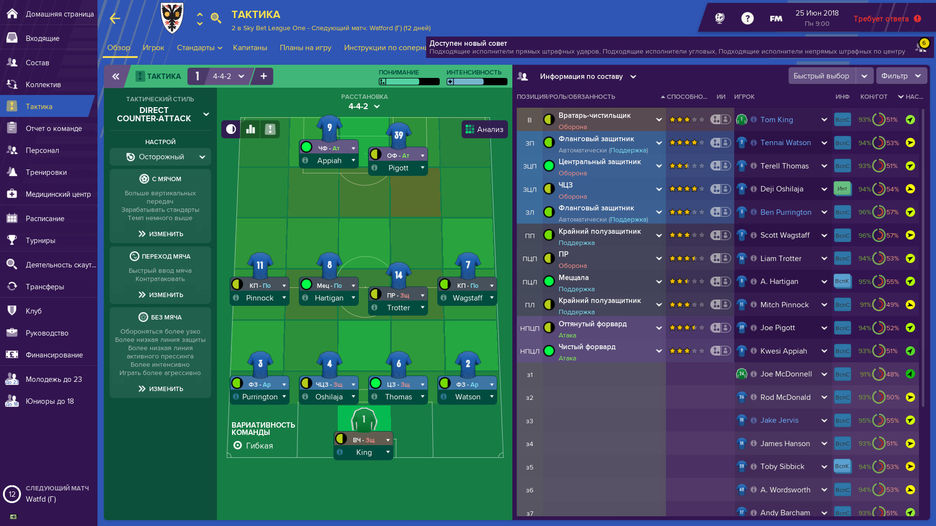 Football Manager 2019 (2018/PC/Русский), Лицензия
