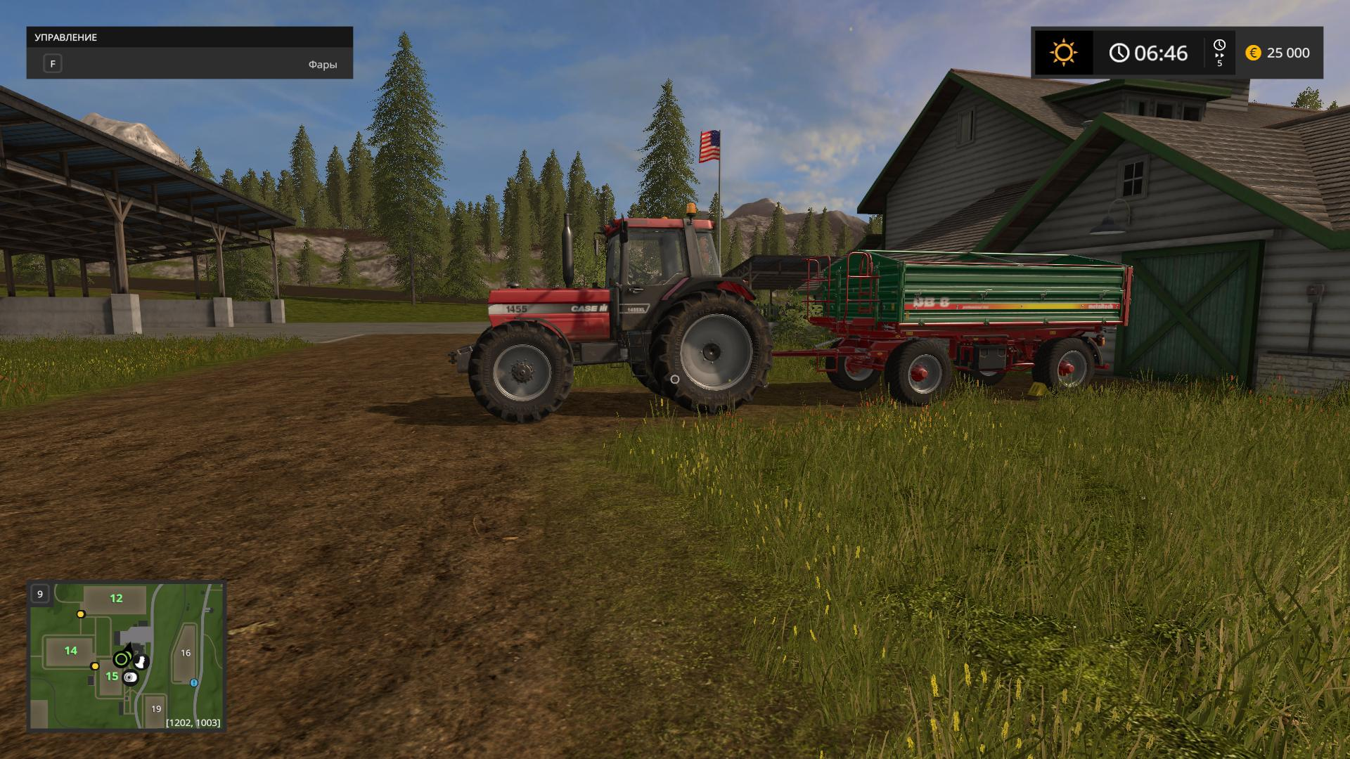 Farming Simulator 17 [v 1.3.3 + 2 DLC] (2016) PC | RePack by Other s - Скриншот 3