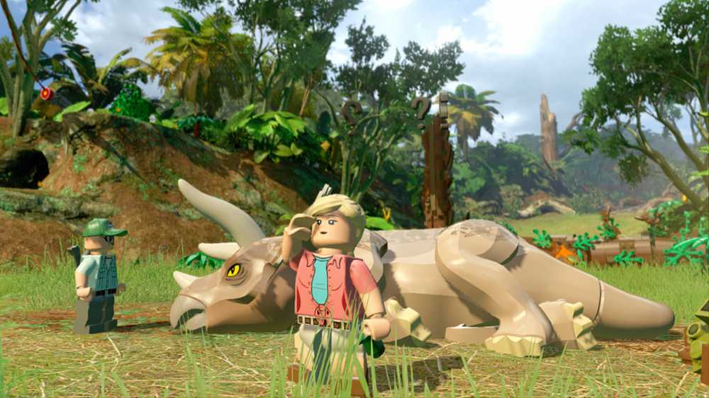 LEGO Jurassic World (2015) PC - Скриншот 1