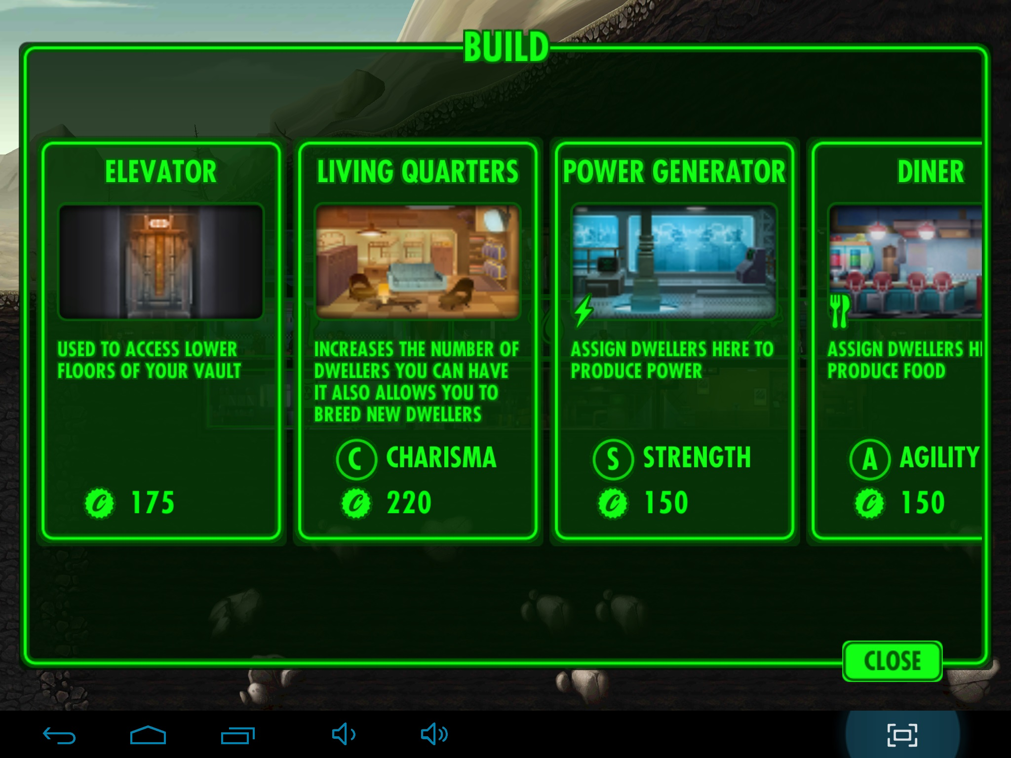 Fallout shelter 1.1 [ENG] Android - Скриншот 3