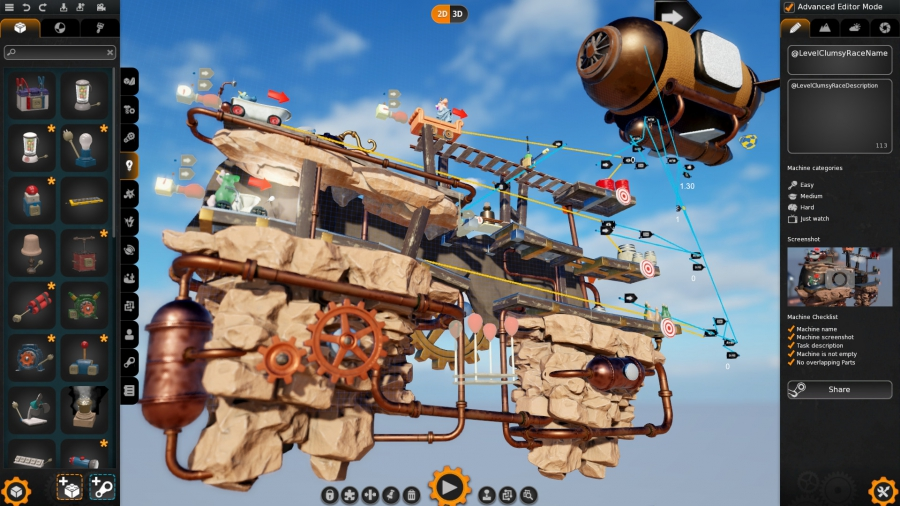 Crazy Machines 3 (2016) PC - Скриншот 3