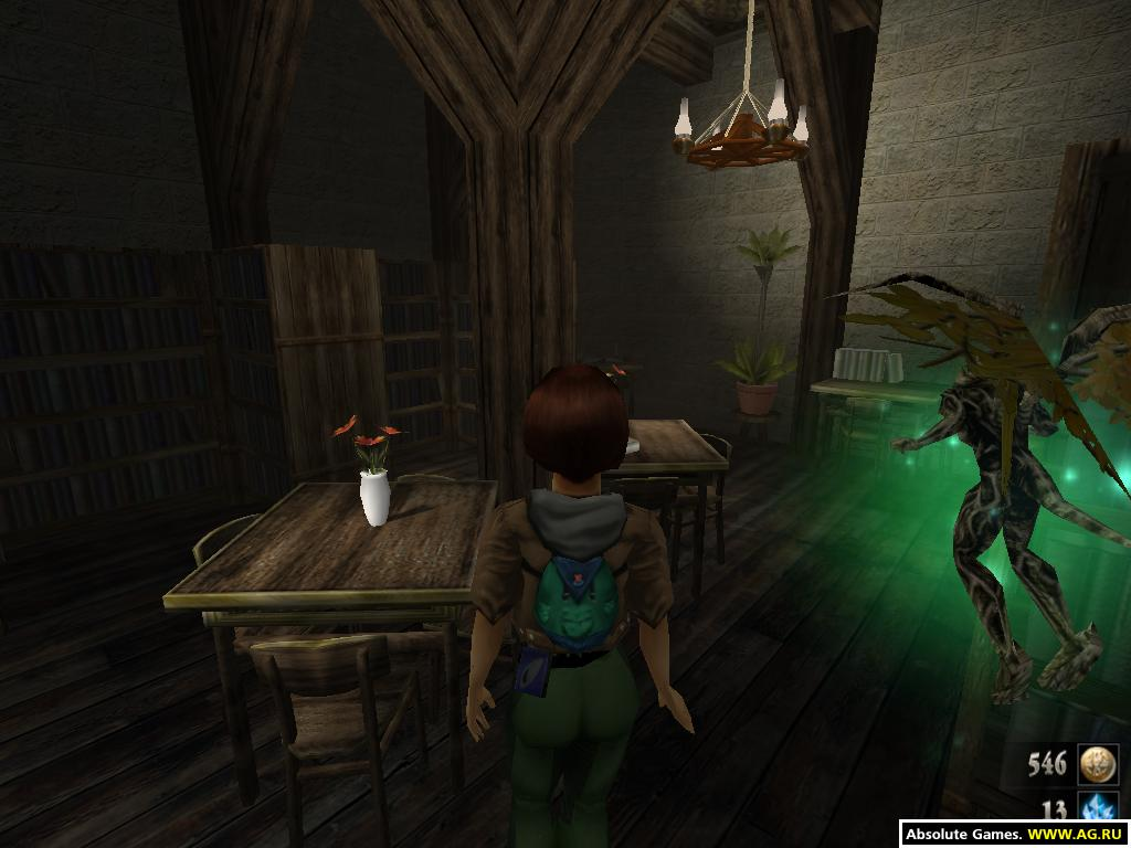 Скриншот к Zanzarah: The Hidden Portal (2003) [RePack, Русский, Action (Shooter) / Adventure / RPG / 3D / 1st Person] от R.G. UniGamers