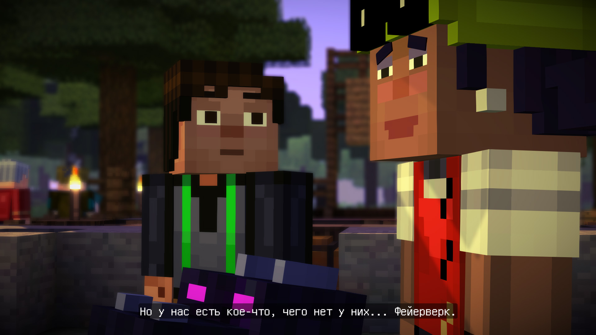 Minecraft: Story Mode - Episode 1-5 (2015) PC | RePack от R.G. Catalyst - Скриншот 2