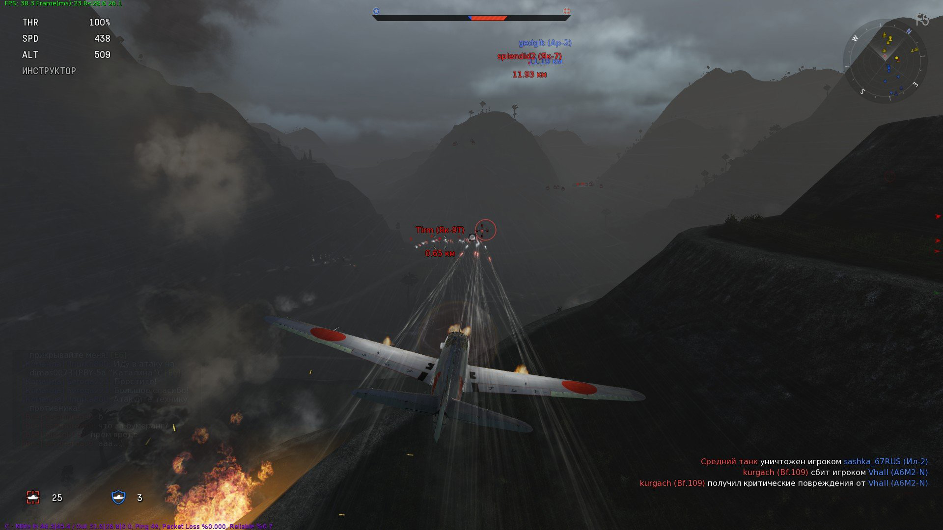 War Thunder [1.53.8.80] (2012) PC | Online-only - Скриншот 2