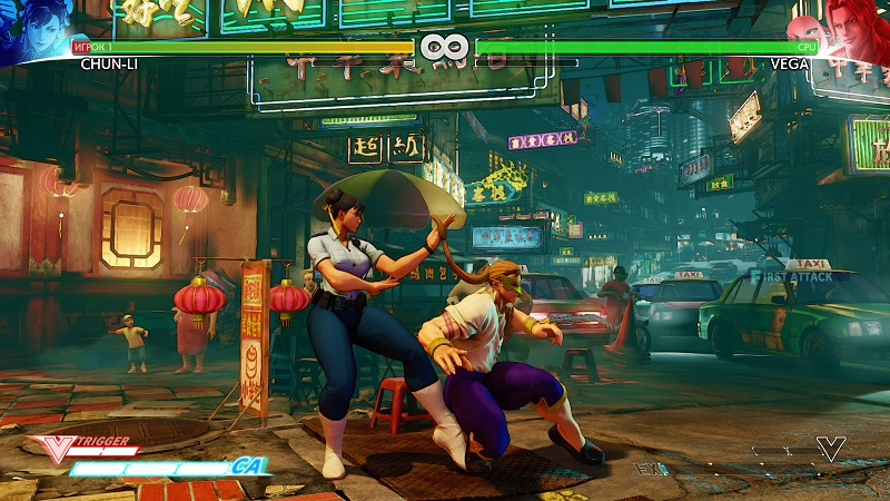 Street Fighter V (2016) PC - Скриншот 2