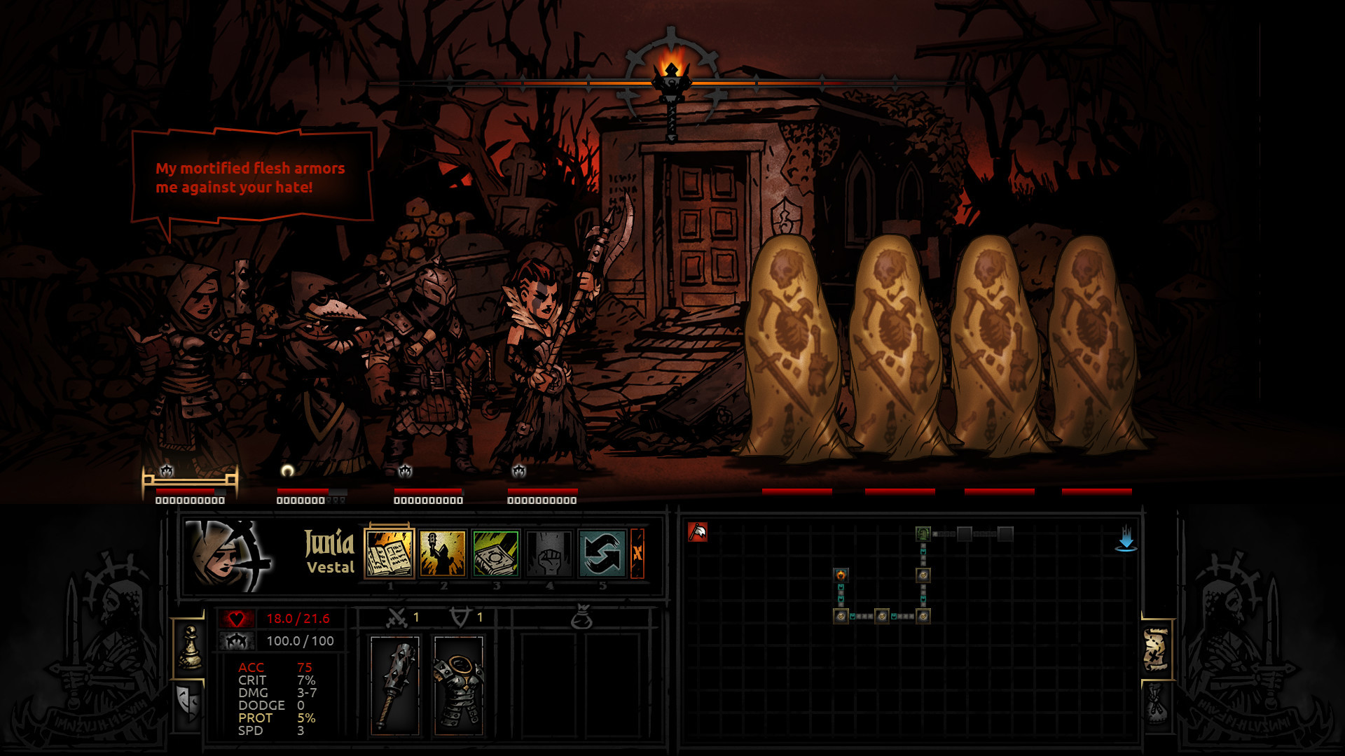 Darkest Dungeon [Build 14620] (2016) PC | RePack by SeregA-Lus - Скриншот 1