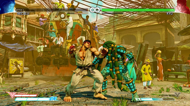 Street Fighter V (2016) PC - Скриншот 1