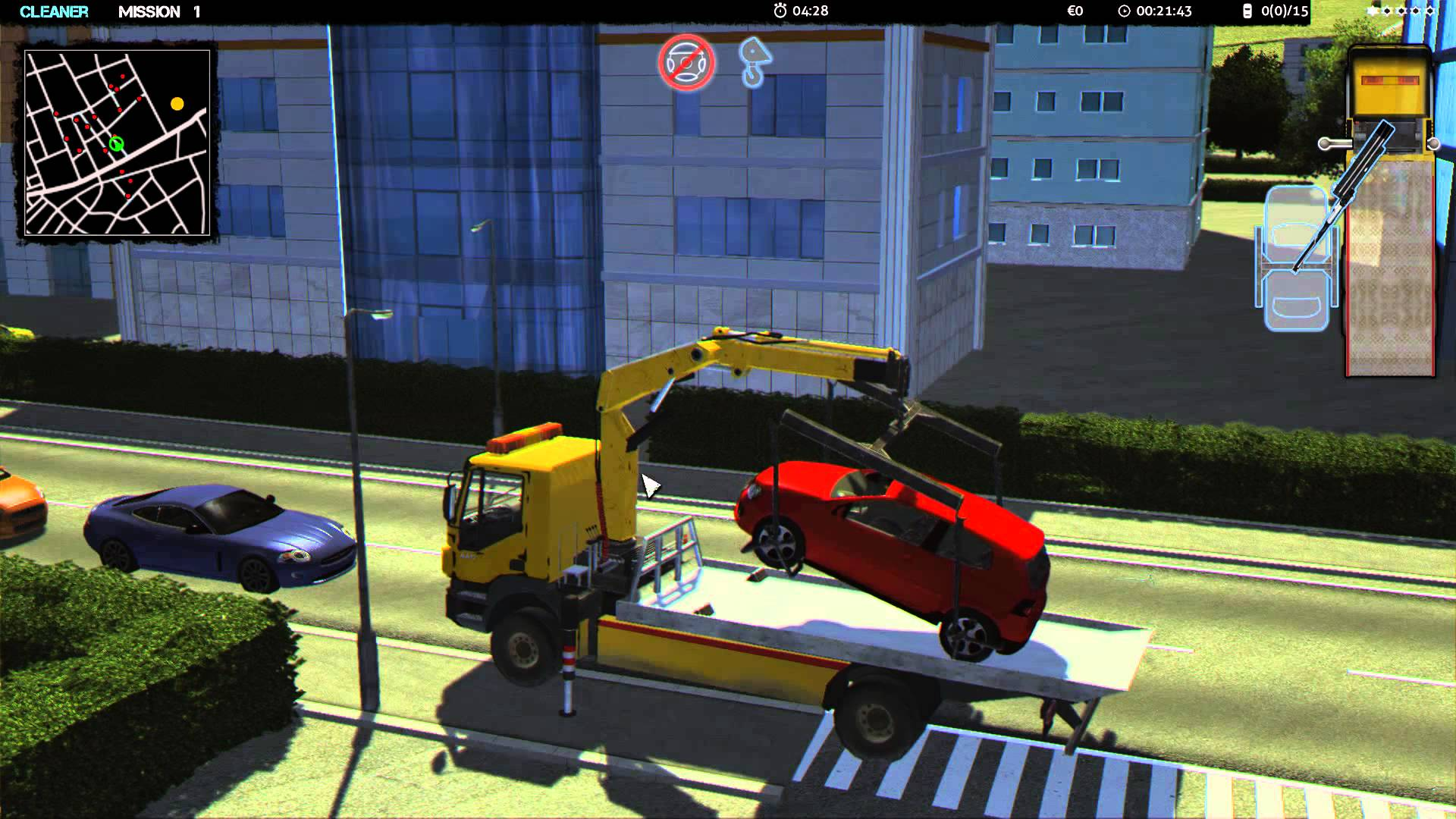Towtruck Simulator 2015 (United Independent Entertainment GmbH) (ENG|MULTI6) [L] - Скриншот 1