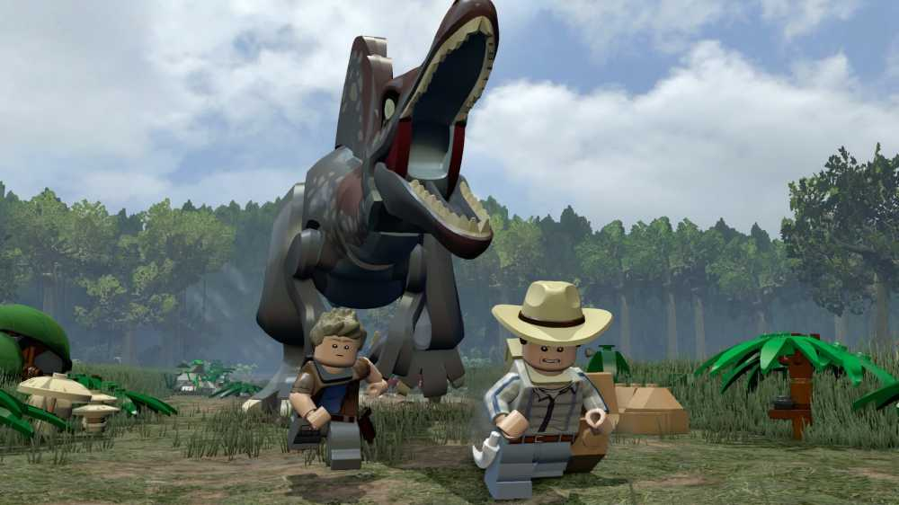 LEGO Jurassic World (2015) PC - Скриншот 2