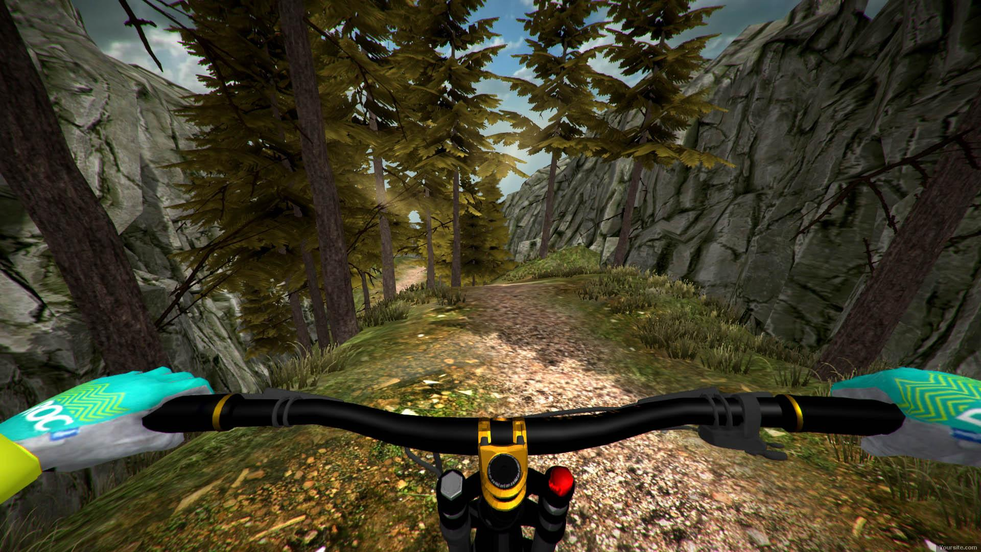 MTB Downhill Simulator (2016) PC - Скриншот 2