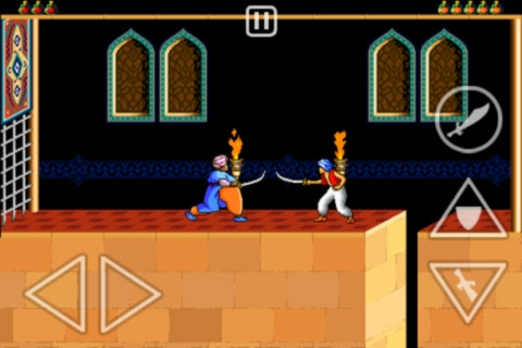 Prince of Persia® Retro [1.0.2, iOS 3.1.3, ENG] - Скриншот 3