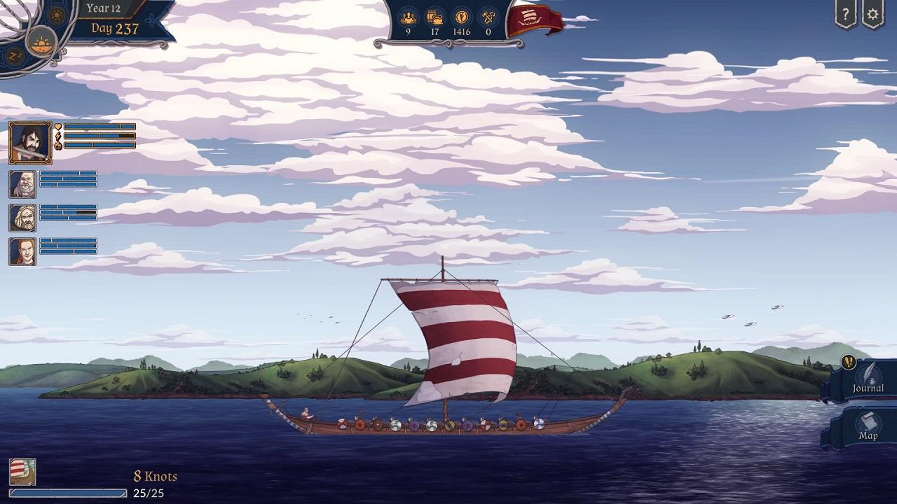 The Great Whale Road (2017) PC - Скриншот 1