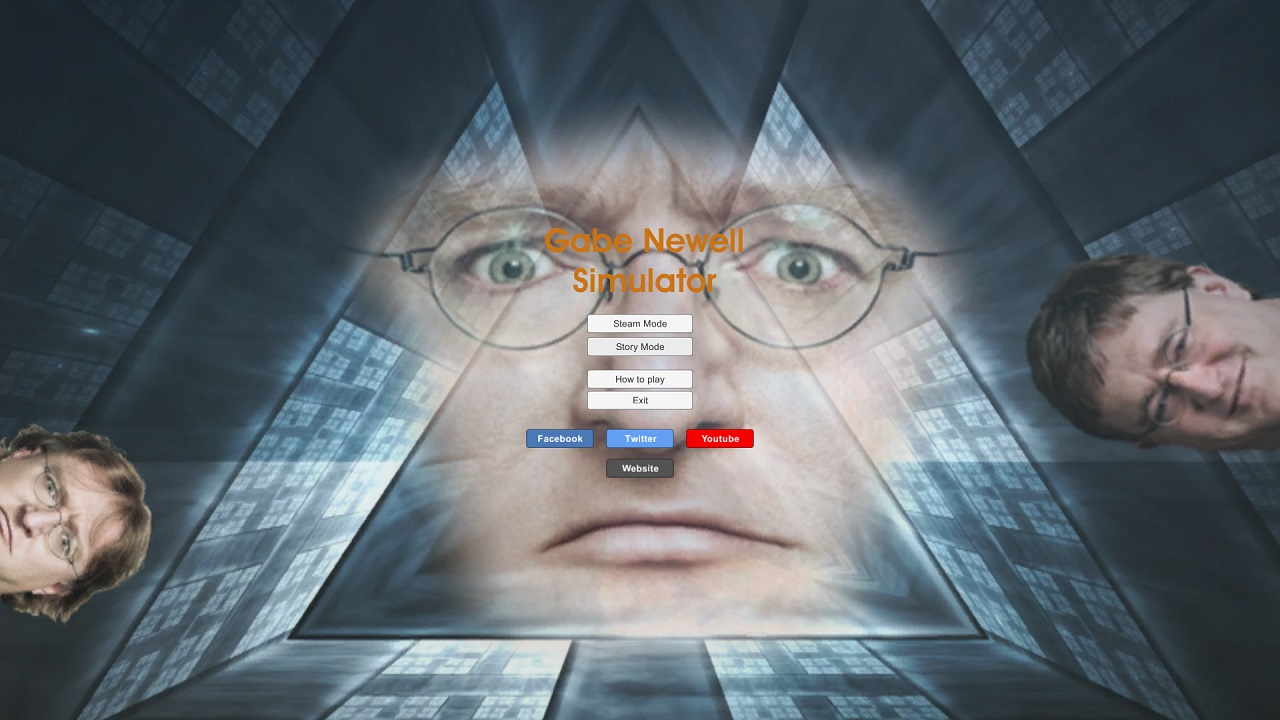Gabe Newell Simulator / [RePack by Piston] [2015] PC - Скриншот 3