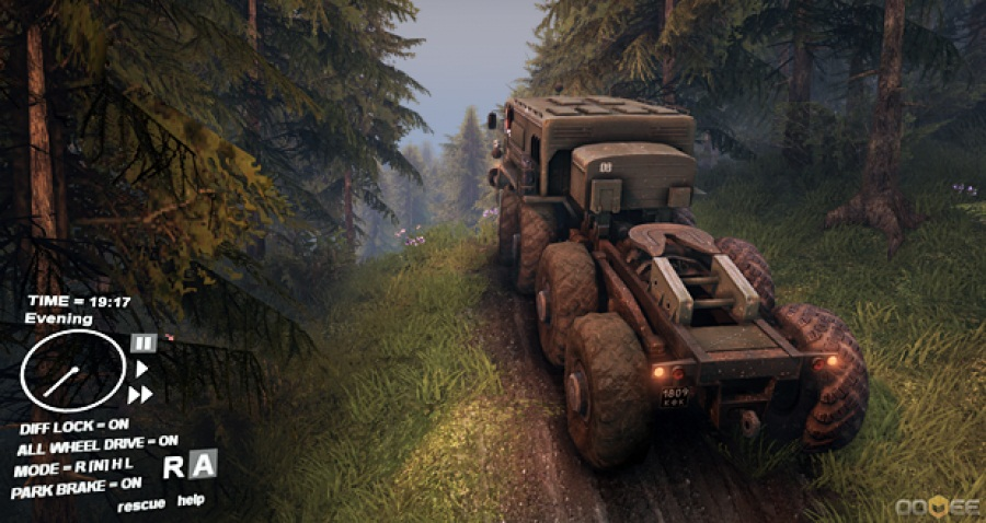 Второй скриншот Spintires Build 13.04.2015 v1 Hotfix (RePack)