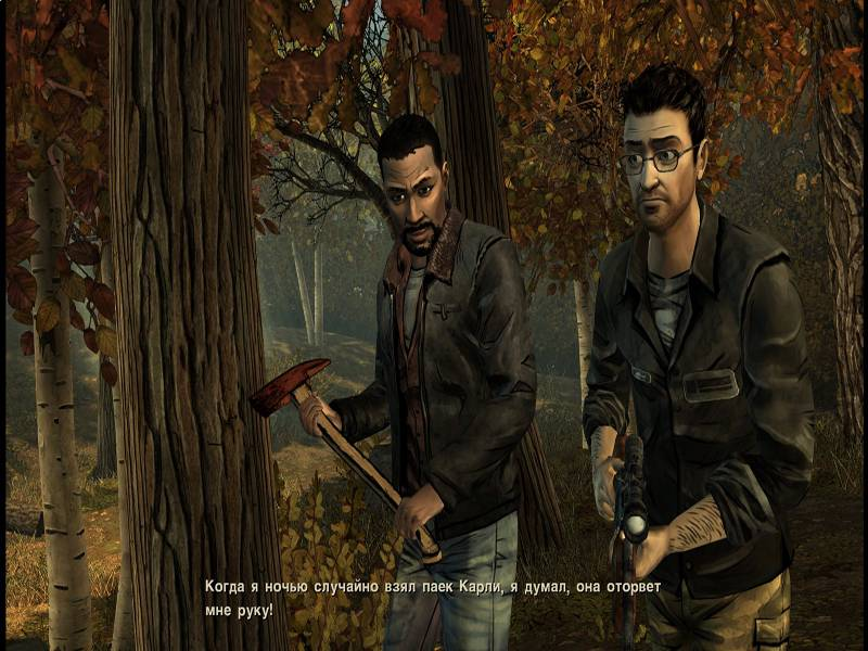 The Walking Dead: The Game (2012) PC - Русификатор (обновлен)