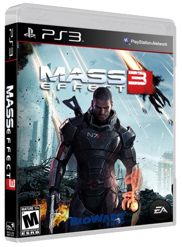 Mass Effect 3 + All DLC (2012) PS3