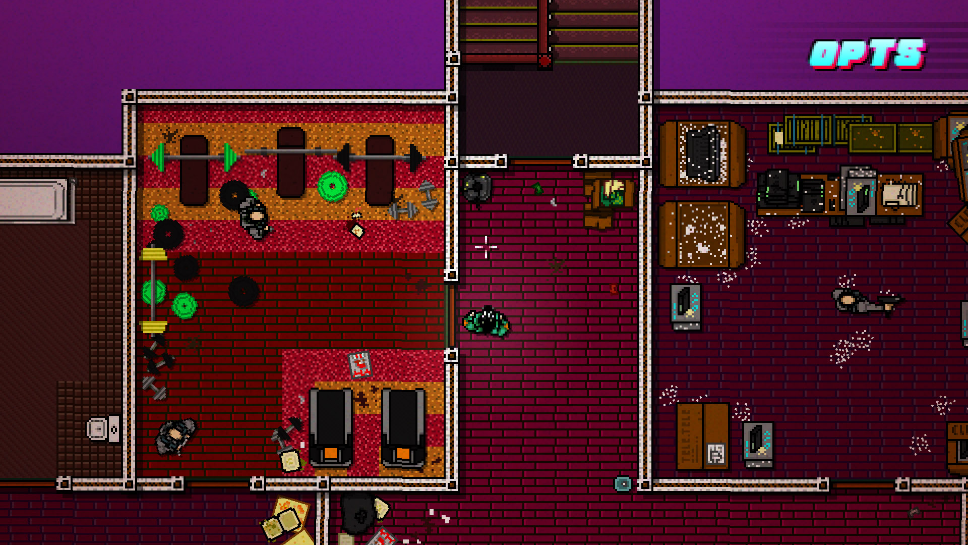 Hotline Miami 2 [1.06] (2015) Steam-Rip - Скриншот 1
