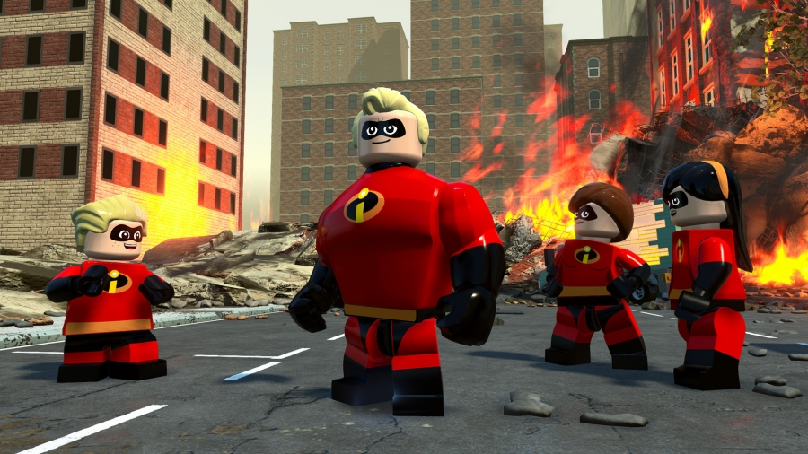 LEGO The Incredibles [v 1.0.0.62857 + 1 DLC] (2018/РС/Русский), RePack by SpaceX