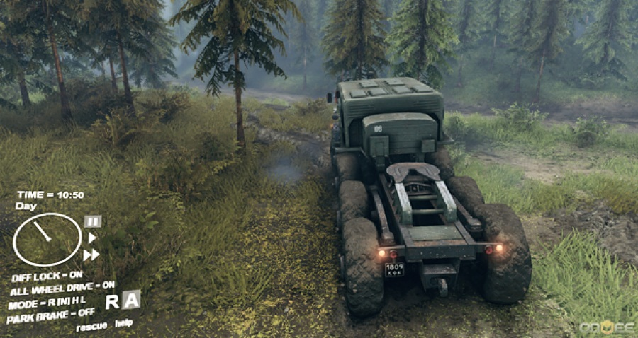 Скриншот Spintires Build 13.04.2015 v1 Hotfix (RePack)