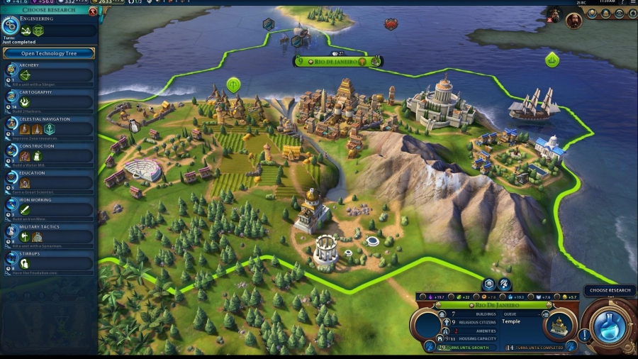 Sid Meier's Civilization VI: Digital Deluxe [v 1.0.0.110 + 4 DLC + OST] (2016) PC | RePack by FitGirl - Скриншот 1