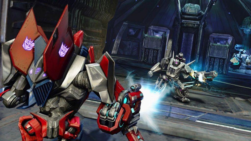جصريا اللعبة العملاقة Transformers: Fall Of Cybertron [DEMO