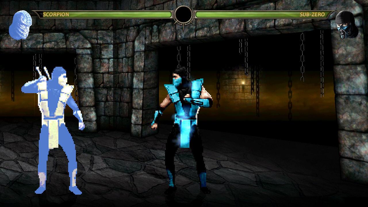 لعبة القتل وقطع الرؤوس Mortal Kombat 9 (M.U.G.E.N.