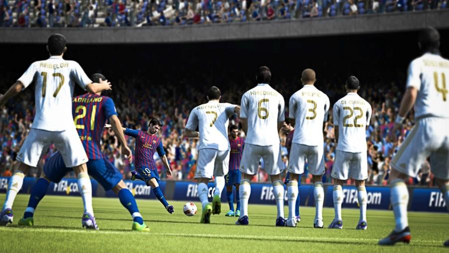 Слух: первые скриншоты FIFA 13
